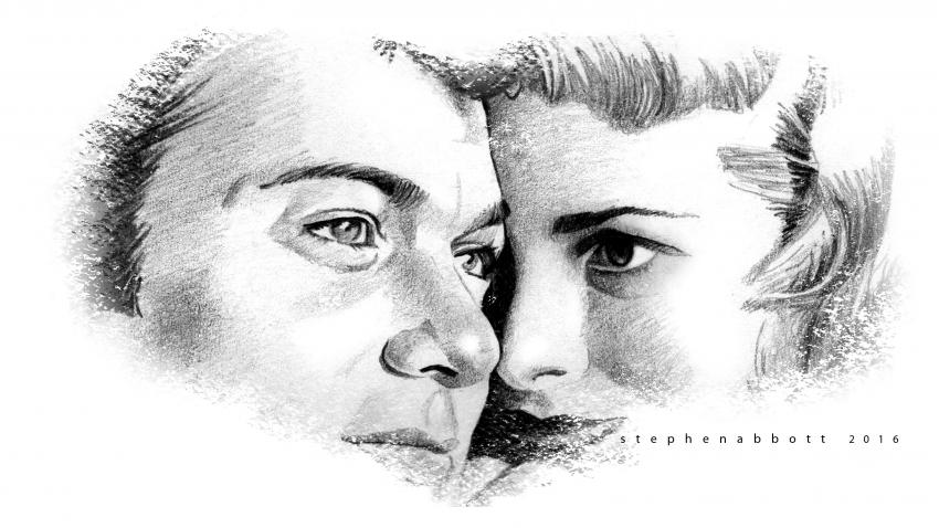 Janet Leigh, Tony Curtis by Henstepbatbot
